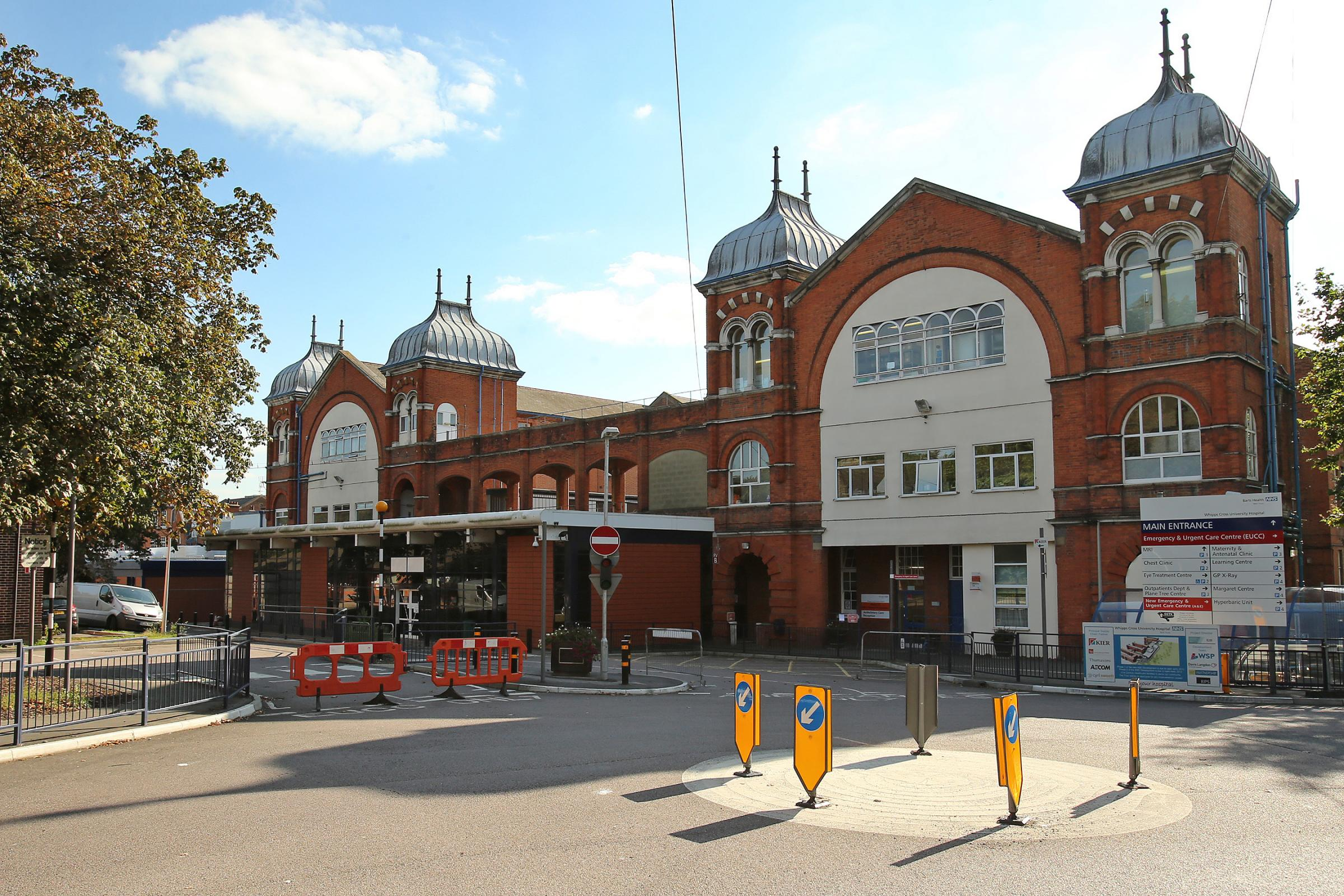 Two children and a woman were rushed to Whipps Cross Hospital in Leytonstone