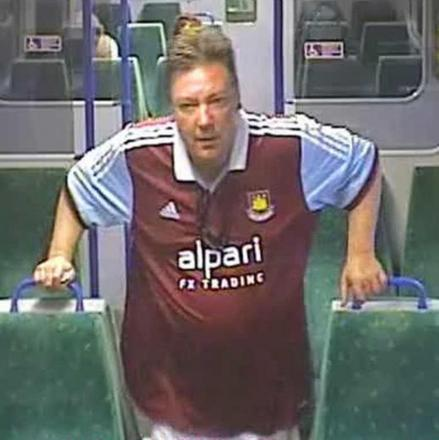 CCTV image of West released by Briti