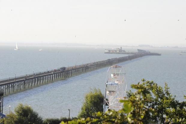 Southend Pier. File image.