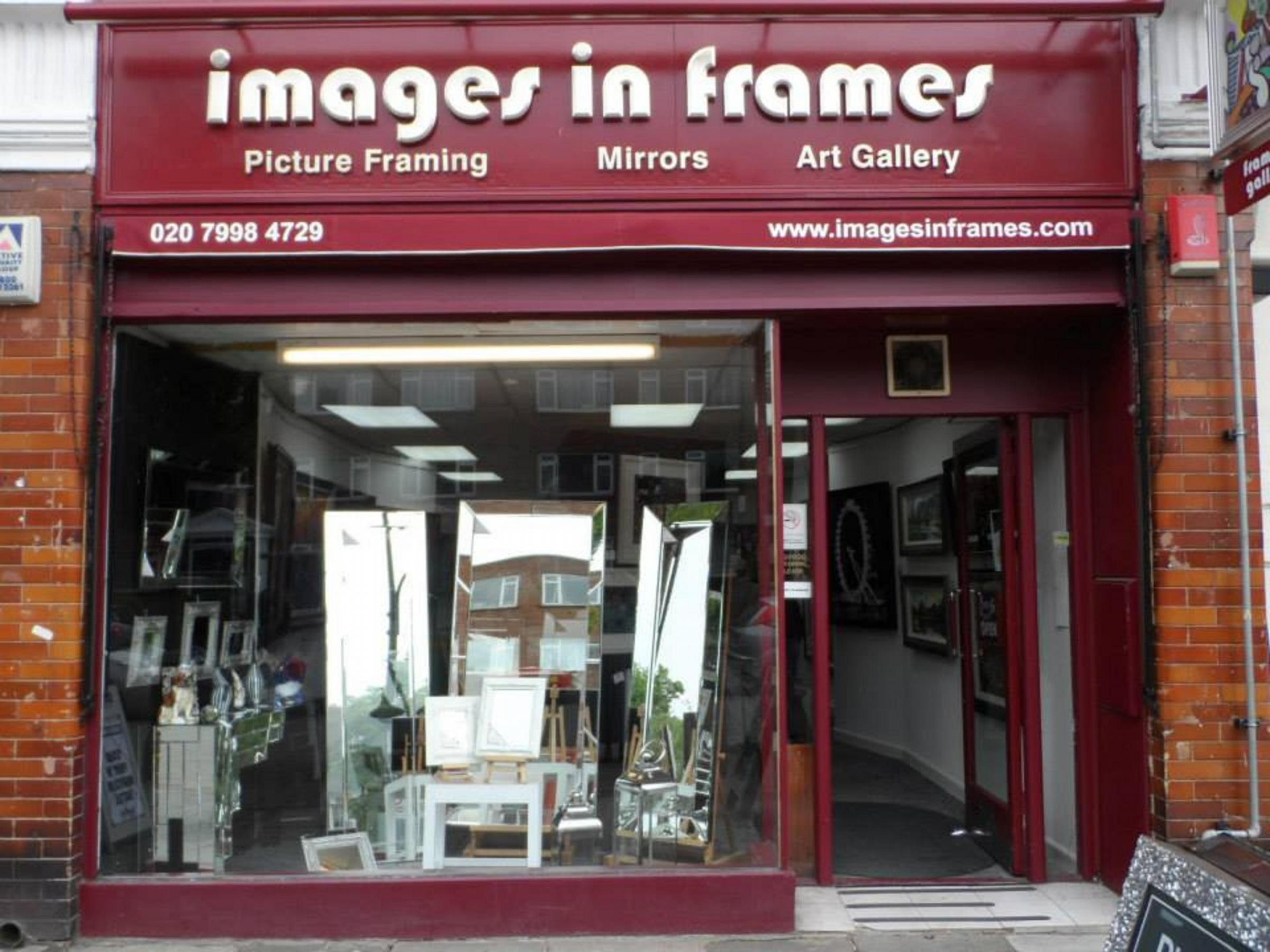Images in Frames will host the art of JJ Adams for just over a week.