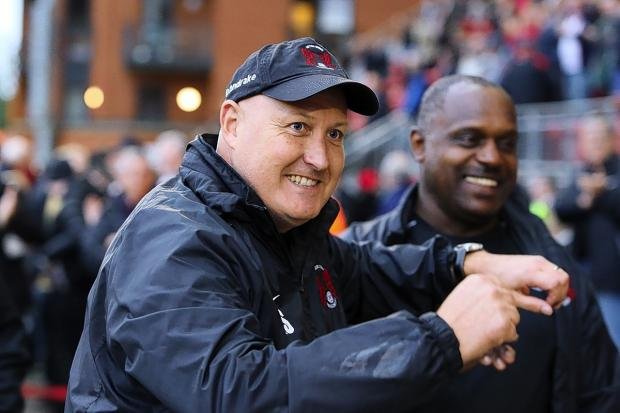 Russell Slade's side finally had something to smile about from the penalty spot: Simon O'Connor