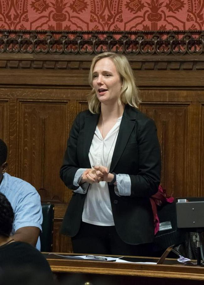 Stella Creasy refused to sit down until opposition said 'tampon' in Commons debate