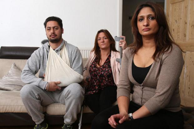 East London and West Essex Guardian Series: Samrath Singh, Tammy Collins and Berry Sohal