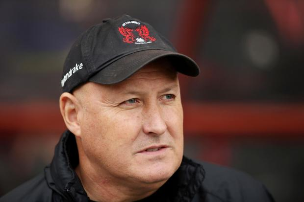 Russell Slade's side have a busy February: Action Images
