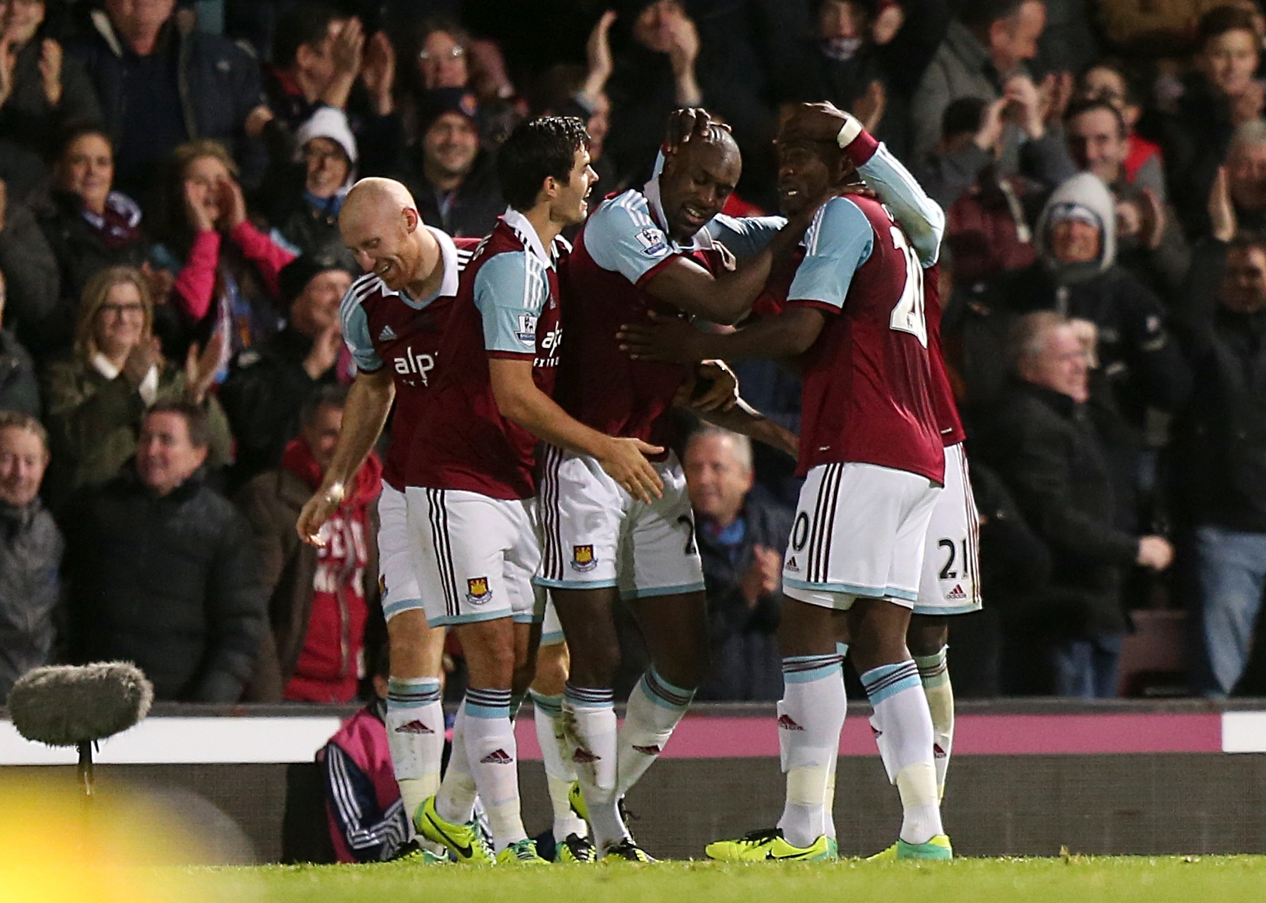 West Ham United gained a crucial win: Action Images