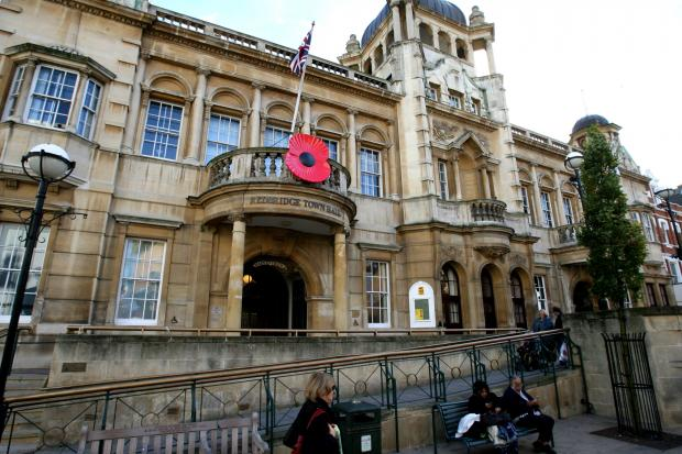 The meetings were cancelled last night at Redbridge Town Hall, Ilford