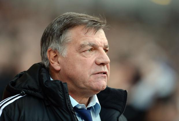 Sam Allardyce's side host Hull tonight: Action Images
