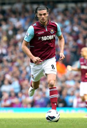 Andy Carroll provides the main goal threat for the Hammers: Action Images