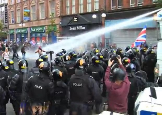 East London and West Essex Guardian Series: Water Cannon in use in Northern Ireland