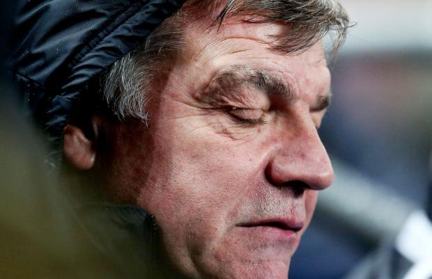 Difficult times: West Ham boss Sam Allardyce. Picture: Action Images