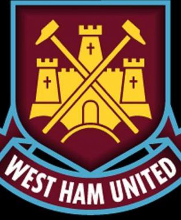 East London and West Essex Guardian Series: West Ham United's current crest.