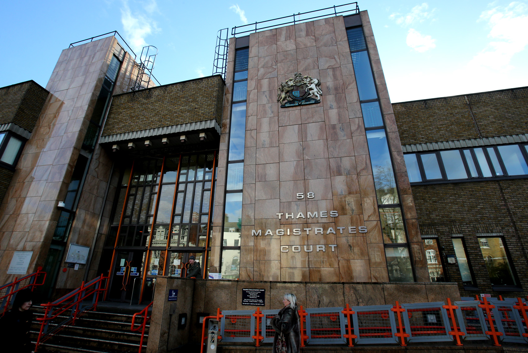 Thames Magistrates' Court.