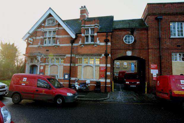 East London and West Essex Guardian Series: The Woodford Green delivery office