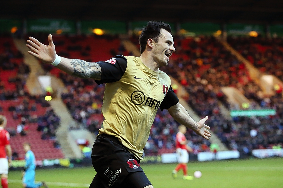 Chris Dagnall celebrates his dream debut for Orient: Simon O'Connor
