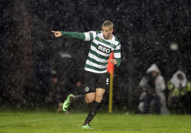 Islam Slimani. Picture: Action Images