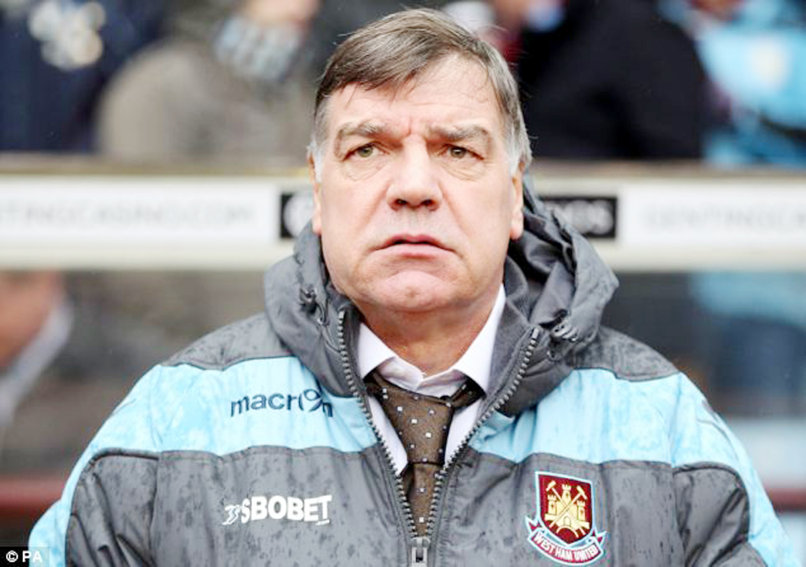 Sam Allardyce's side lost at Stoke: Action Images