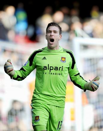 Keeper Adrian could face competition in goal next season: Action Images