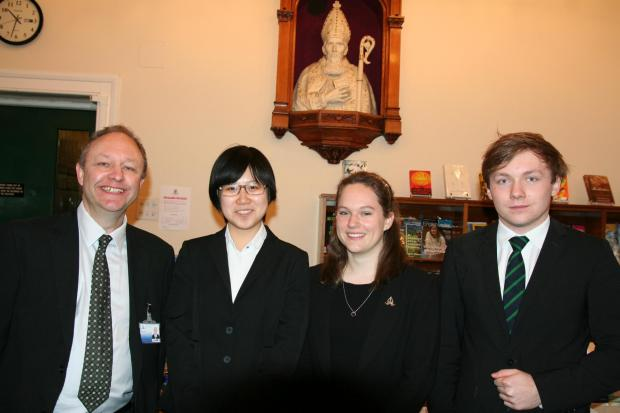 Chris Lord, Yitian Zhao, Katie Marshall and Marcin Wajs