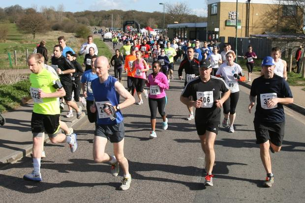 ATHLETICS: Runners duo notch personal bests at Watford Half