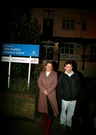 Green Party leader Natalie Bennett met Steven Neville in Buckhurst Hill