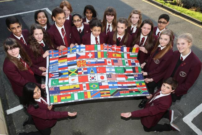 Pupils are raising money to take part in the World Scholar's Cup competition