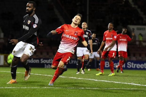 Orient crashed to a third consecutive defeat last night: Simon O'Connor