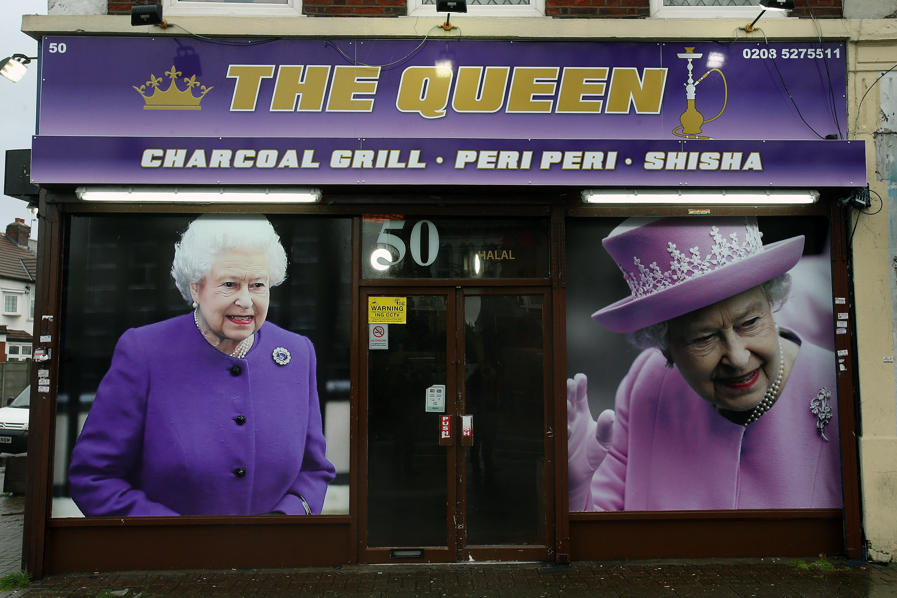 The Queen kebab shop on Chingford Mount Road.