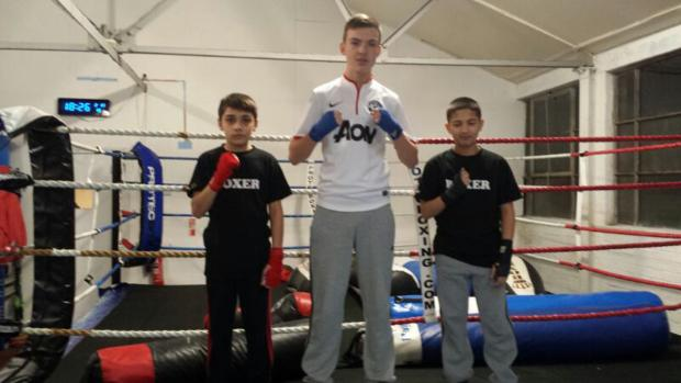 BOXING: Academy trio gunning for glory
