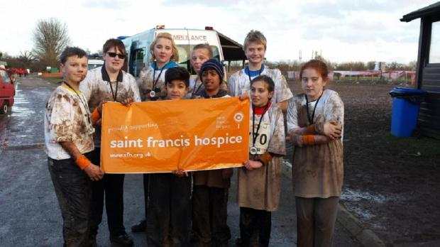 The Redbridge Volunteer Police Cadets and Officers took part in the race for St Francis Hospice