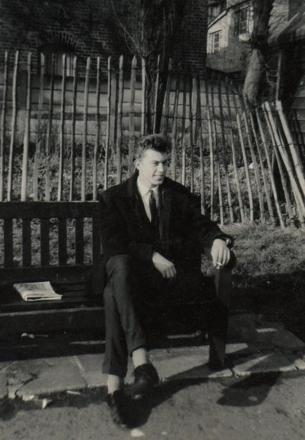 A photograph of David Allen thought to have been taken some time after 1965.