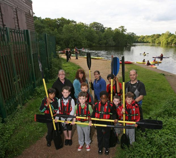 Young canoers were set to lose facilities