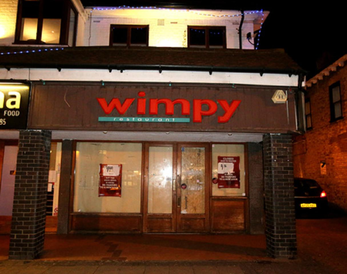Wimpy in High Street, Epping.