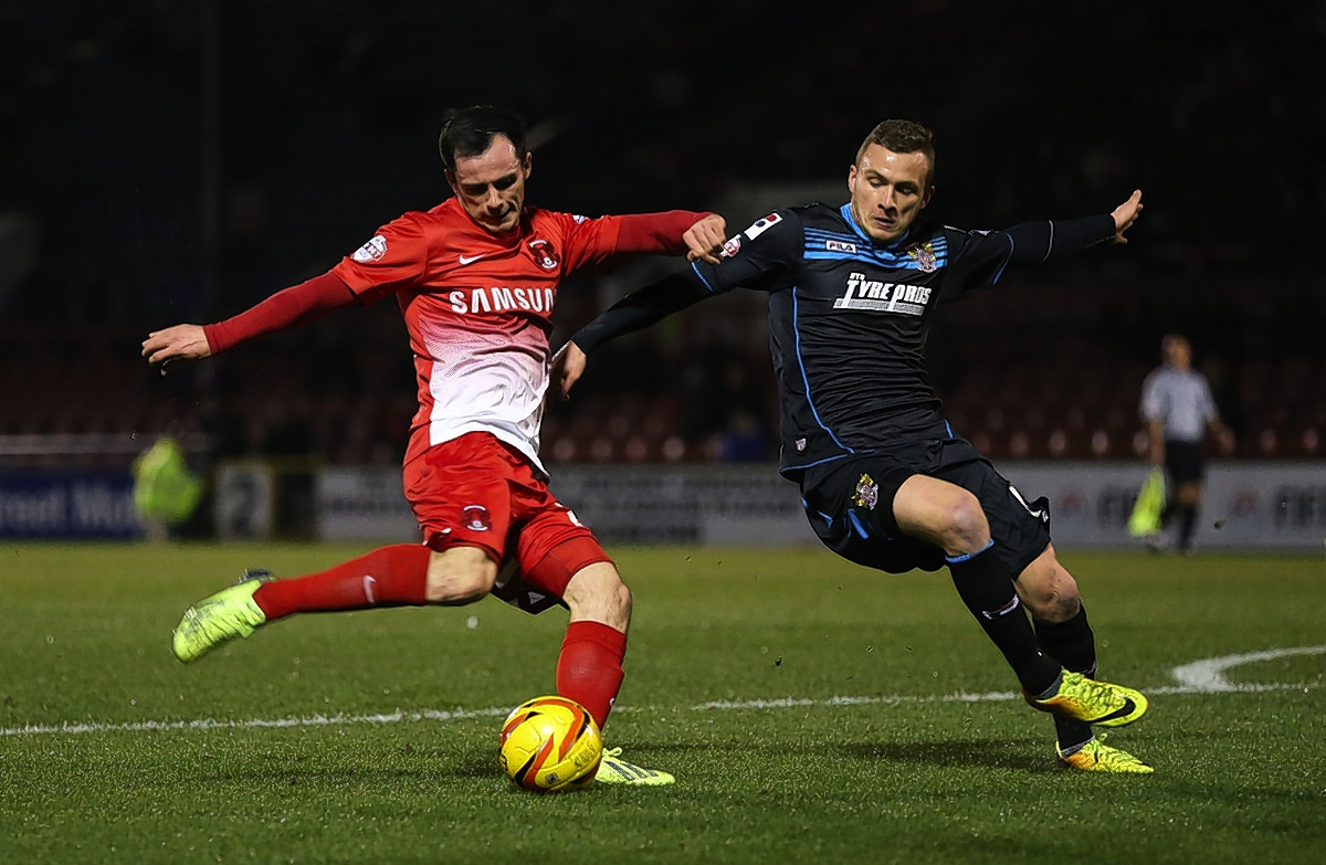 Chris Dagnall grabbed the equaliser for Orient at Crawley: Rob Newell