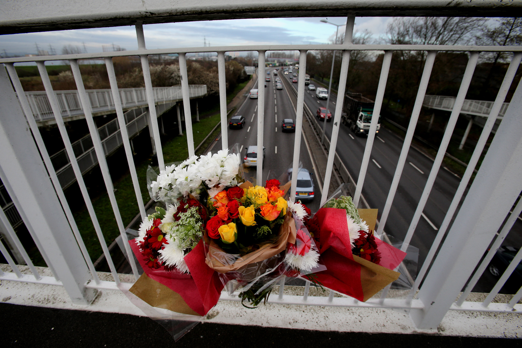 Details of footbridge death victim revealed