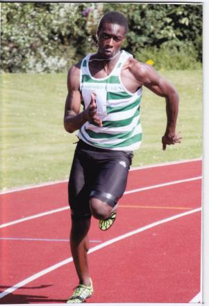 ATHLETICS: Chingford sprinter in the form of his life