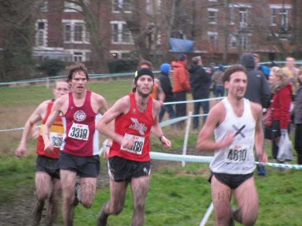 East London Runners competing earlier this season.