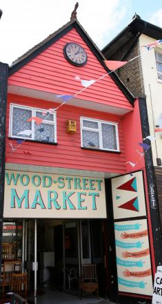 The Wood Street Indoor Market has been open on Sundays since August last year