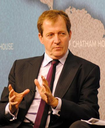 Alastair Campbell is set to visit Walthamstow