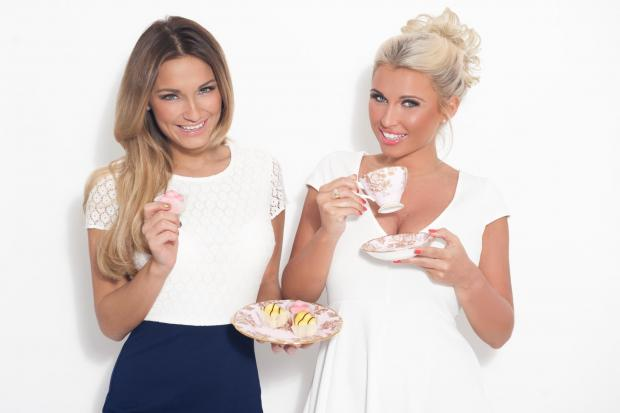 Sam and Billie Faiers are supporting the Haven House Par-tea campaign