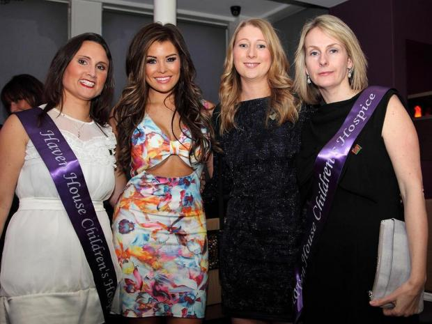 Jessica Wright at Haven House charity event