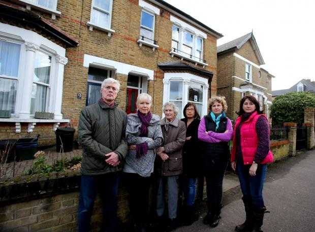 East London and West Essex Guardian Series: Residents Tom Jennings, Sue Cannon, Penny Oak, Anne Chin, Sue Brown and Gill Hopkins