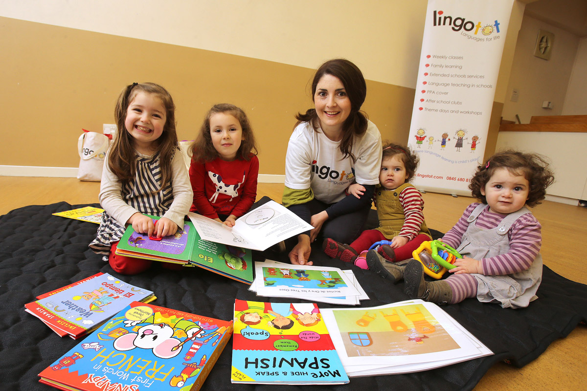 Mother-of-four Jenny Escobar has launched Lingotots language classes.