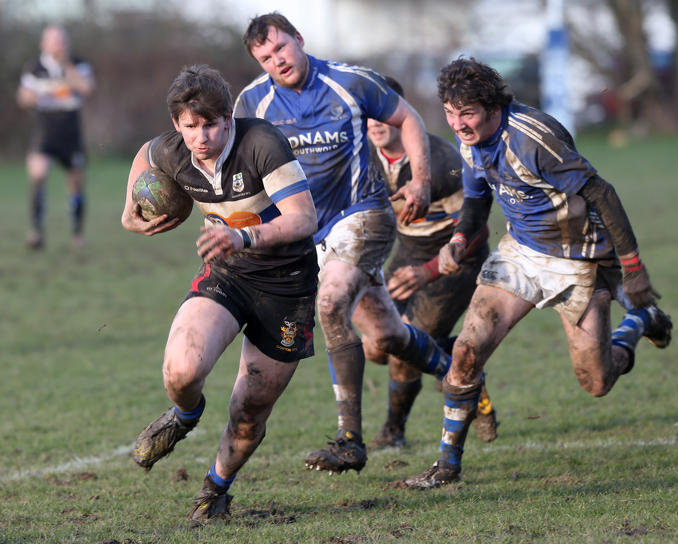 Chingford beat Diss 29-7 in London 1 North. Picture: Mark Soanes