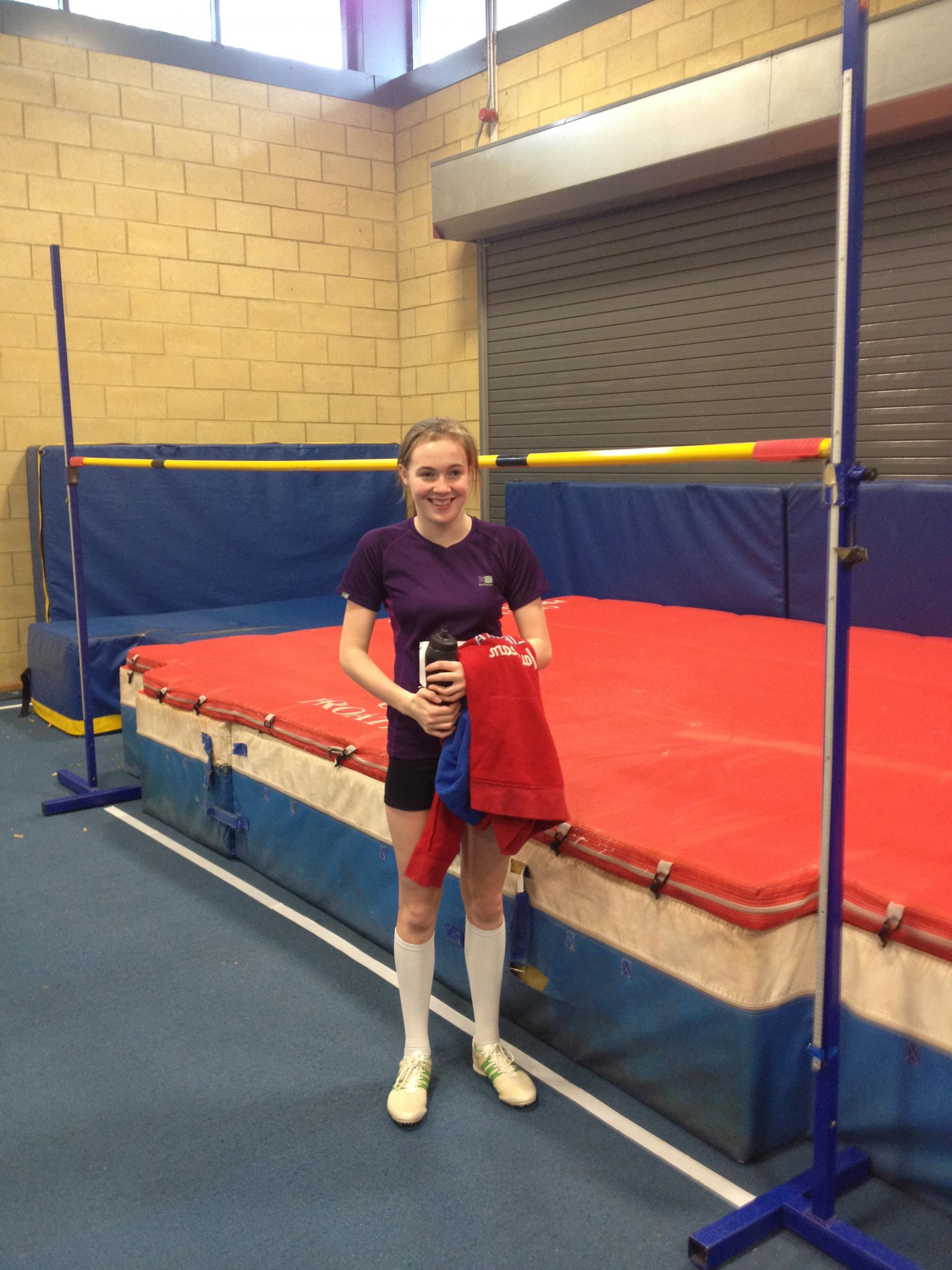 ATHLETICS: Penfold recorded a personal best in the 70m hurdles on Saturday.