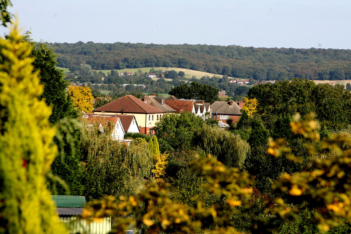 Epping Forest has the third most green belt land in England