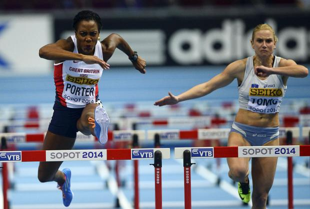 Tiffany Porter in action at the World Indoor Championships. Picture: Action Images