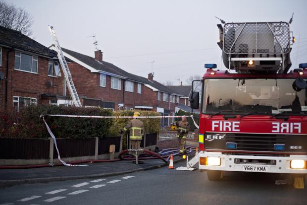Fire fighters have been called to the scene of the spillage (file picture)