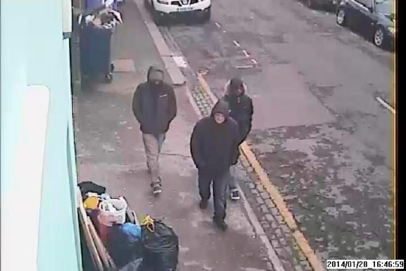 Police are looking for these three men