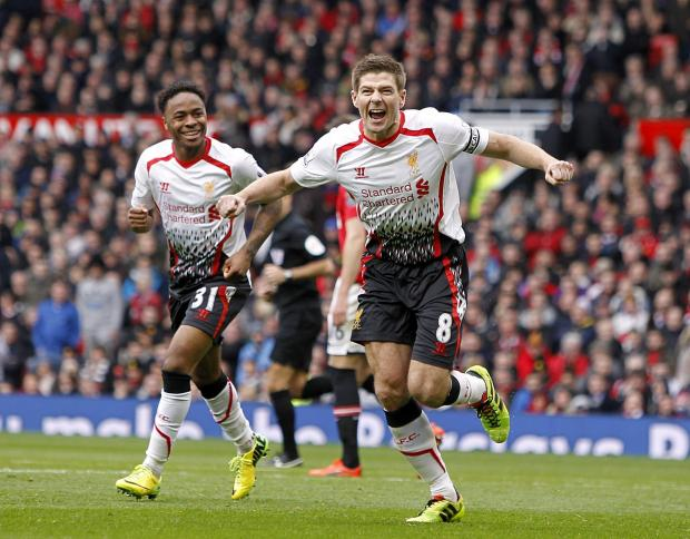 Steven Gerrard's penalty brace helped Liverpool beat West Ham. Picture: Action Images