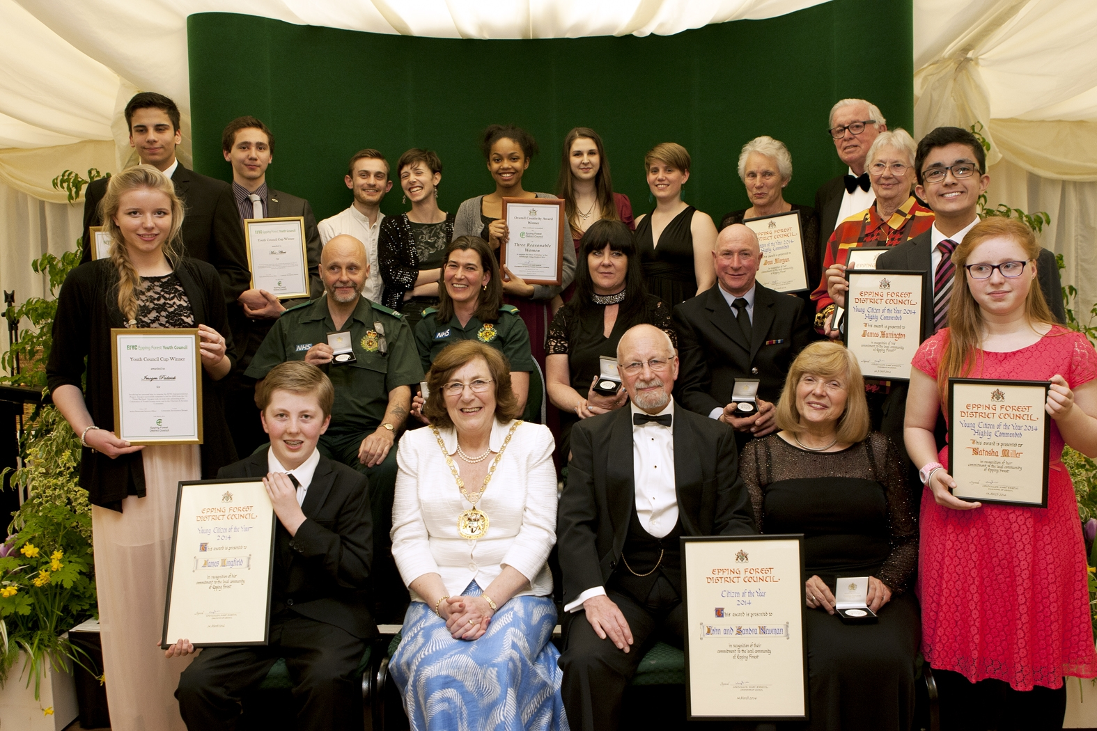 Great and good of Epping Forest recognised at annual awards